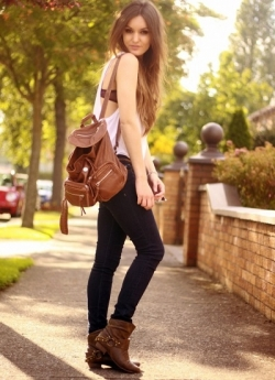 Женские и мужские рюкзаки