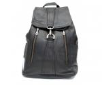 Кожаный рюкзак (унисекс)                                            Модель z-44