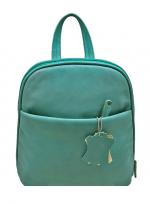 Кожаный рюкзак (унисекс)                                            Модель: AB - 6