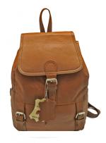 Кожаный рюкзак (унисекс)                                            Модель: z -37