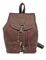 Кожаный рюкзак (унисекс)                                            Модель z-45