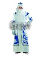 Дед Мороз серебряно-синий  р.54-56 161-1